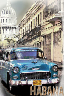 Oldtimer in Habana by renaswelten