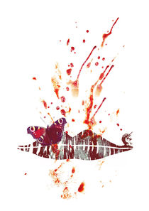 Bloody Lips by Sybille Sterk