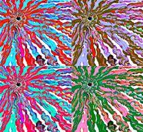 Floral mind bender by Amanda Elizabeth  Sullivan