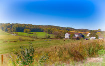 Farmland In Amish Country by John Bailey