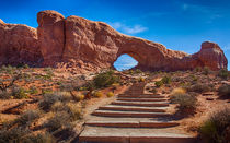 Stairway To North Windows Arch by John Bailey