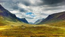 Glen Coe Valley by Frank Wöllnitz
