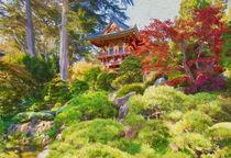 Japanese Tea Garden by John Bailey