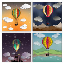 Balloon Aeronautics Set by dip
