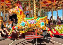 Carousel Horses by Graham Prentice