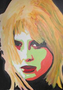 Portrait einer zornigen jungen Frau von Klaus Engels