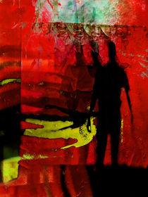 Men and red by Gabi Hampe