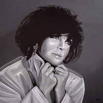 Elizabeth Taylor painting von Paul Meijering