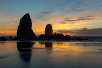 Cannon Beach Sunset by Wolfgang Kaehler