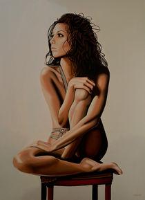 Eva Longoria painting von Paul Meijering