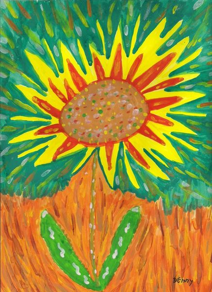 Number-90-sunflower