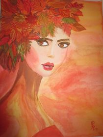 'Lady of autumn/ Herbst-Fee' by Rena Rady