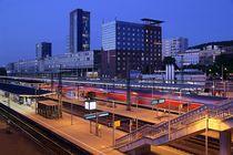 Hauptbahnhof Freiburg von Patrick Lohmüller