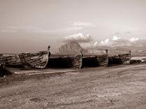 Alter Hafen Trapani auf der Insel Sizilien von captainsilva