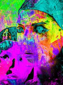 Turquoise eyes by Gabi Hampe