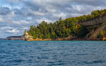 Entering Pictured Rocks National Lakeshore by John Bailey