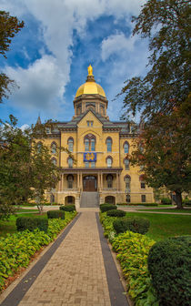 The Golden University Administrative Building by John Bailey