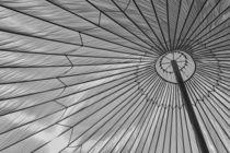 Big umbrella in the sun by leddermann