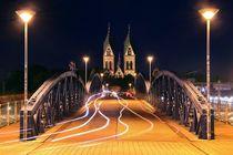 Blaue Brücke Freiburg by Patrick Lohmüller