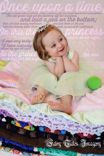 Princess and the Pea with story background by Söndra Rymer