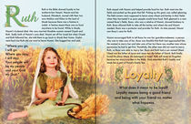 Ruth featured in Children's Bible curriculum lesson by Söndra Rymer