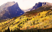 Fall splendor and color in mountains by Söndra Rymer