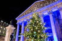 Royal Exchange At Christmas von Graham Prentice