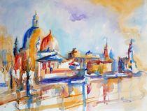 Dresden - Brühlsche Terrasse von Claudia Pinkau