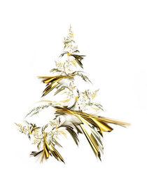 Golden Christmas Tree von moonbloom