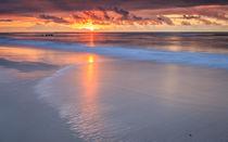 Einfach nur ein Sonnenuntergang von Martin Büchler