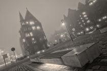 Speicherstadt im Nebel by Michael Onasch