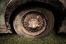 old wheel von Petra Voß
