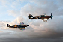 Supermarine Spitfire and Hawker Hurricane von Steve H Clark Photography