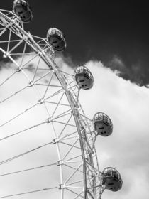 London Eye Pods in Monochrome von Graham Prentice
