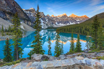 Moraine Lake by Christine Büchler