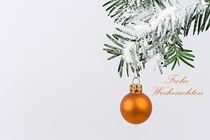 Weihnachtskarte von Tatjana Walter