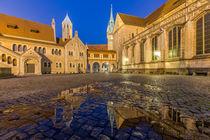 Braunschweiger Burgplatz von Christine Büchler