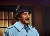 Peter Sellers as inspector Clouseau painting von Paul Meijering