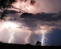 Lightning Storm by Chris Edmunds