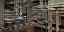 Die fünfte Dimension eines Buchregals von Kai Kasprzyk
