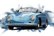 Porsche 356 Speedster by rdesign