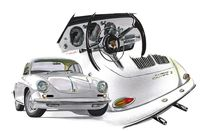 Porsche 356 BT6 Carrera von rdesign
