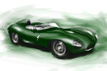 Jaguar D Type by rdesign