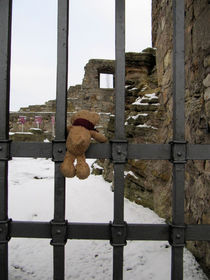 Ein Blick auf die Burgruinen von Olga Sander