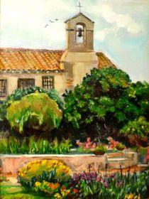 Mission San Juan Capistrano by Renuka Pillai