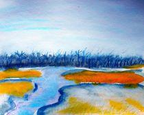River landscape von Maria-Anna  Ziehr