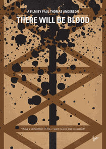 No358 My There Will Be Blood minimal movie poster von chungkong