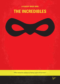 No368 My Incredibles minimal movie poster von chungkong