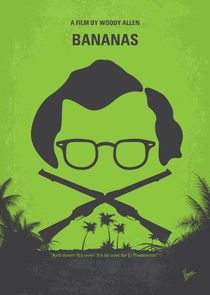 No375 My Bananas minimal movie poster von chungkong