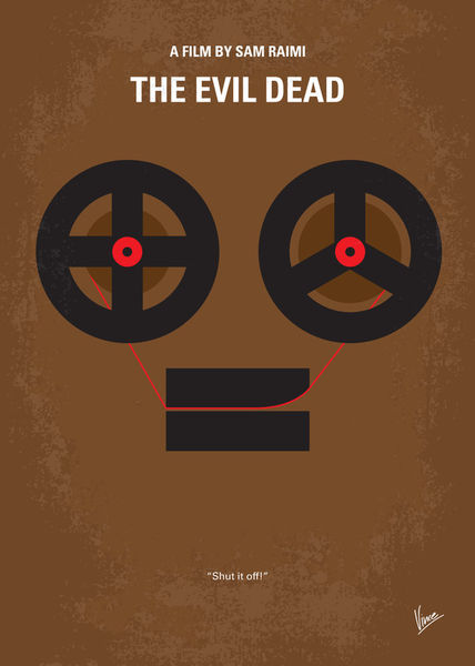 No380-my-the-evil-dead-minimal-movie-poster